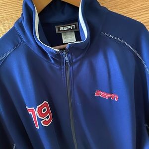 Other - ESPN light short sleeve basketball jacket